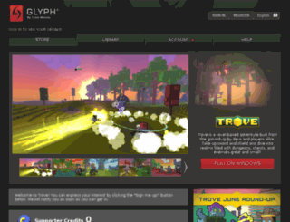 pjalpha.trionworlds.com screenshot