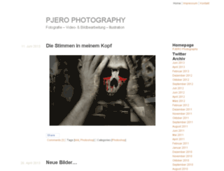 pjerophotography-blog.de screenshot