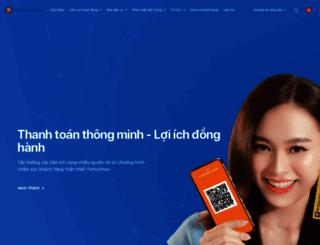 pjico.petrolimex.com.vn screenshot