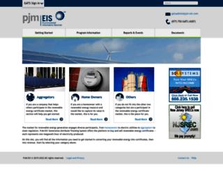 pjm-eis.com screenshot