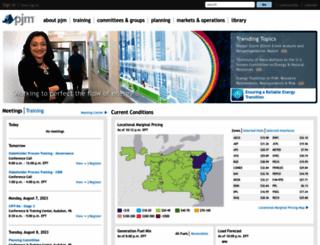 pjm.com screenshot