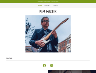 pjmmusik.com screenshot