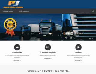pjonibusecaminhoes.com.br screenshot