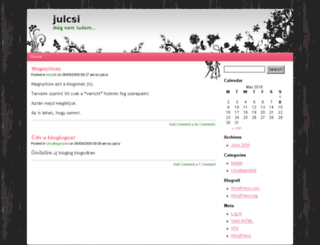 pjulcsy.bloglog.hu screenshot