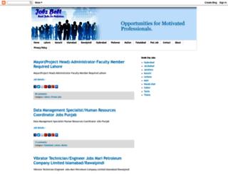 pk-job-portal.blogspot.com screenshot