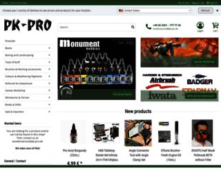pk-pro.de screenshot
