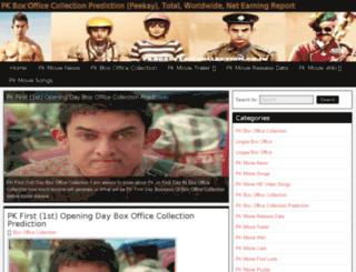 pkboxofficecollection.org screenshot