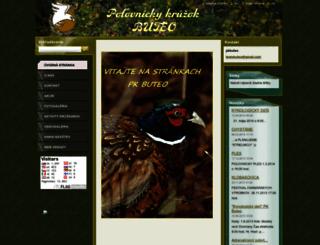 pkbuteo4.webnode.sk screenshot
