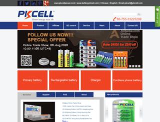 pkcell.com screenshot
