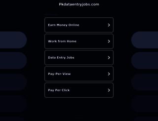pkdataentryjobs.com screenshot