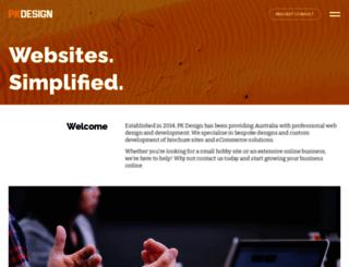 pkdesign.com.au screenshot