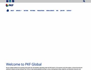 pkf.com screenshot