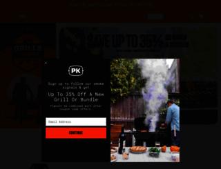 pkgrills.com screenshot