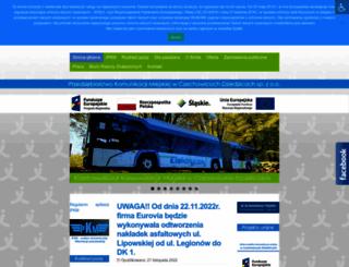 pkm.czechowice-dziedzice.pl screenshot