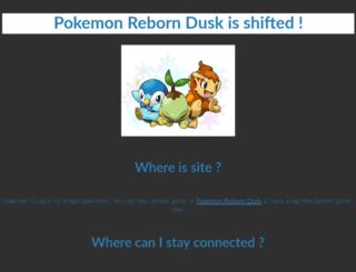pkmndusk.in screenshot