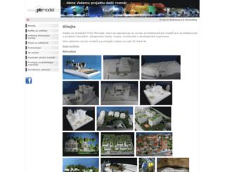 pkmodel.cz screenshot