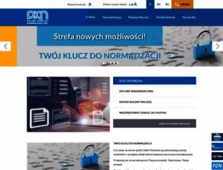 pkn.pl screenshot