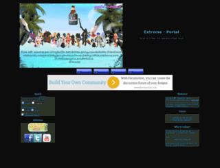 pkoextreme.forumotion.net screenshot
