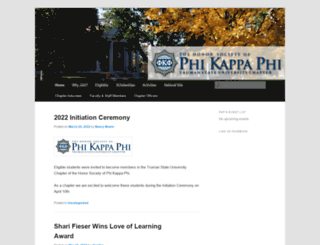 pkp.truman.edu screenshot