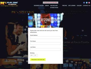 pkplayzone.com screenshot