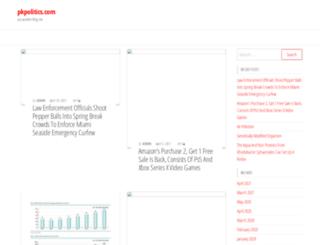 pkpolitics.com screenshot