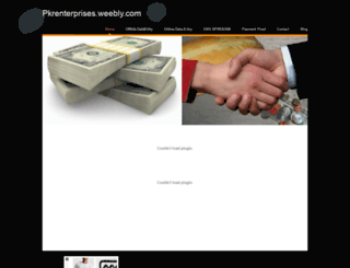 pkrenterprises.weebly.com screenshot