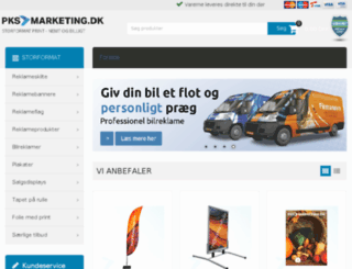 pksmarketing.dk screenshot