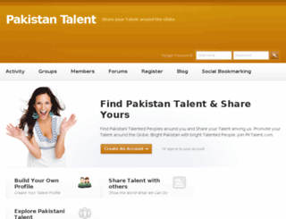 pktalent.com screenshot