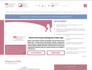 pkw.gov.pl screenshot