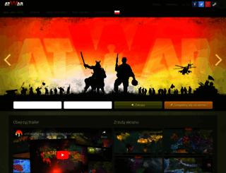 pl.atwar-game.com screenshot