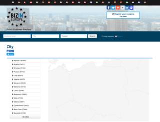 pl.bizin.eu screenshot