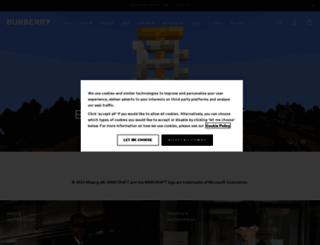 pl.burberry.com screenshot