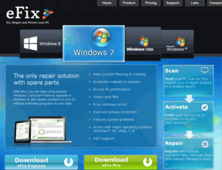 pl.efix.com screenshot