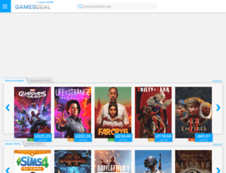 pl.gamesdeal.com screenshot