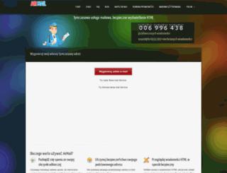 pl.getairmail.com screenshot