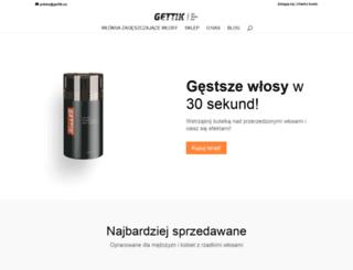 pl.gettik.eu screenshot