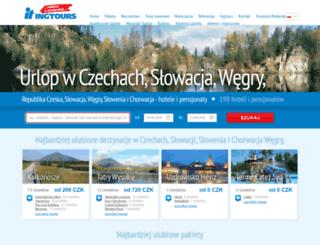 pl.ingtours.cz screenshot