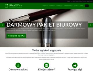 pl.libreoffice.org screenshot