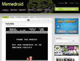 pl.memedroid.com screenshot