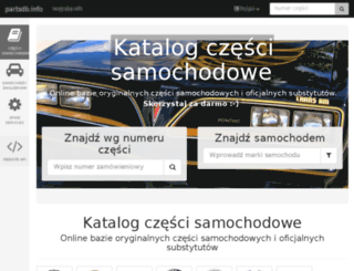 pl.partsdb.info screenshot