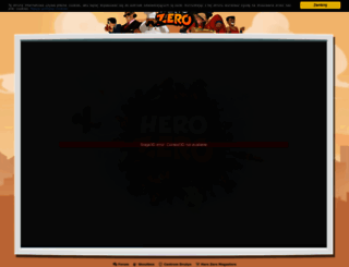 pl2.herozerogame.com screenshot