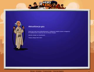 pl3.herozerogame.com screenshot