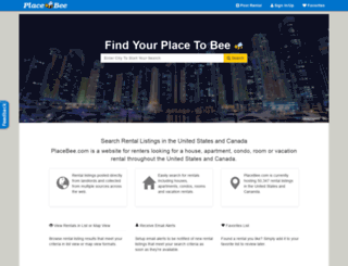 placebee.com screenshot