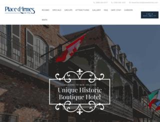 placedarmes.com screenshot