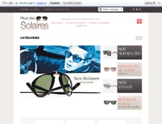 placedessolaires.com screenshot