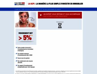 placement-responsable.fr screenshot
