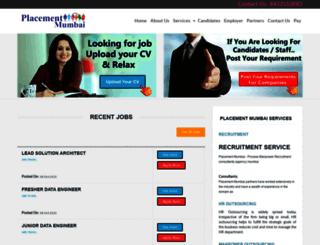 placementmumbai.com screenshot