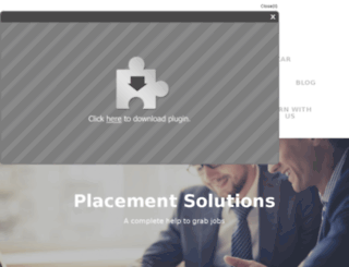 placementsolution.weebly.com screenshot