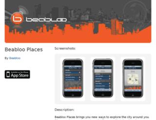 places.beabloo.com screenshot