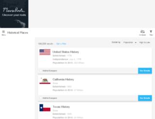 places.mooseroots.com screenshot